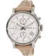 Fossil Women's Boyfriend ES3625 Silver Leather Quartz Watch - Main Image Swatch