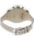 Fossil Women's Boyfriend ES3625 Silver Leather Quartz Watch - Back Image Swatch