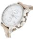 Fossil Women's Boyfriend ES3625 Silver Leather Quartz Watch - Side Image Swatch