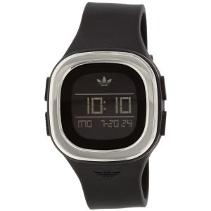 Adidas Men's Denver ADH3033 Black Silicone Quartz Watch