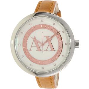 Armani Exchange Women's Julietta AX4226 Brown Leather Quartz Watch