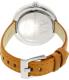 Armani Exchange Women's Julietta AX4226 Brown Leather Quartz Watch - Back Image Swatch