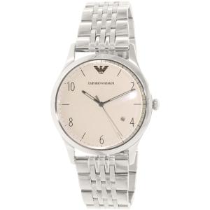 Emporio Armani Men's Beta AR1881 Silver Stainless-Steel Quartz Watch