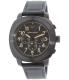 Emporio Armani Men's Delta AR6061 Black Leather Quartz Watch - Main Image Swatch