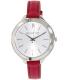 Michael Kors Women's Slim Runway MK2272 Pink Leather Quartz Watch - Main Image Swatch