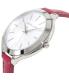 Michael Kors Women's Slim Runway MK2272 Pink Leather Quartz Watch - Side Image Swatch