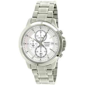 Seiko Men's SKS441 Silver Stainless-Steel Quartz Watch