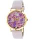 Geneva Platinum Women's 9819.LIGHTPINK.GOLD Light Pink Leather Quartz Watch - Main Image Swatch