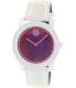 Movado Women's Bold 3600269 White Leather Swiss Quartz Watch - Main Image Swatch