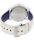 Movado Women's Bold 3600269 White Leather Swiss Quartz Watch - Back Image Swatch