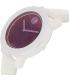 Movado Women's Bold 3600269 White Leather Swiss Quartz Watch - Side Image Swatch