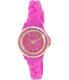 Geneva Platinum Women's 4978.MAGENTA.GOLD Pink Rubber Quartz Watch - Main Image Swatch