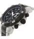 Precimax Men's Defender Pro PX13312 Silver/Black Stainless-Steel Quartz Watch - Side Image Swatch