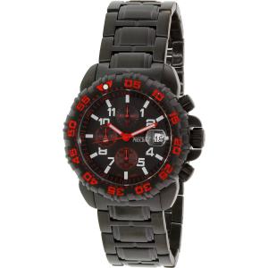 Precimax Men's Ion Pro PX14026 Black Stainless-Steel Quartz Watch