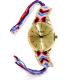 Geneva Platinum Women's 4752.PINK.GOLD Multi Cloth Quartz Watch - Main Image Swatch
