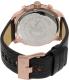 Diesel Men's Stronghold DZ4347 Black Leather Quartz Watch - Back Image Swatch