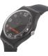 Swatch Men's Originals SUOB107 Black Silicone Swiss Quartz Watch - Side Image Swatch