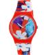 Swatch Women's Originals SUOR105 Red Silicone Swiss Quartz Watch - Main Image Swatch