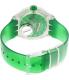 Swatch Women's Originals SUUK104 Green Plastic Swiss Quartz Watch - Back Image Swatch