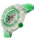 Swatch Women's Originals SUUK104 Green Plastic Swiss Quartz Watch - Side Image Swatch