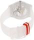 Swatch Men's Originals SUOZ195 White Silicone Swiss Quartz Watch - Back Image Swatch