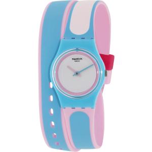 Swatch Women's Originals LL117 Blue Silicone Swiss Quartz Watch
