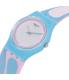 Swatch Women's Originals LL117 Blue Silicone Swiss Quartz Watch - Side Image Swatch