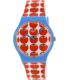 Swatch Women's Originals SUOS102 Red Silicone Swiss Quartz Watch - Main Image Swatch