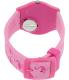 Swatch Women's Originals GP144 Pink Silicone Swiss Quartz Watch - Back Image Swatch