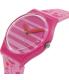 Swatch Women's Originals GP144 Pink Silicone Swiss Quartz Watch - Side Image Swatch