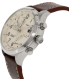 Timex Men's T2N932 Brown Leather Analog Quartz Watch - Side Image Swatch