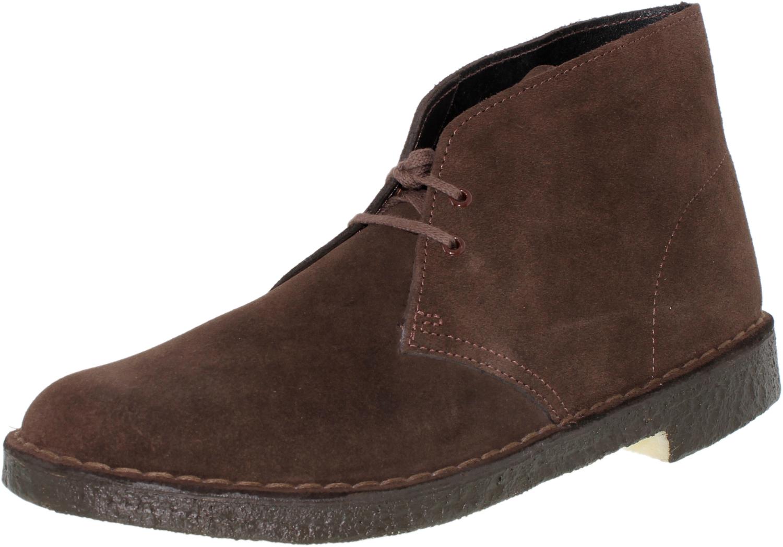 Clarks Men\'s Desert Boot Core High-Top Suede Boot | eBay