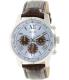 Guess Men's U0380G6 Brown Leather Quartz Watch - Main Image Swatch