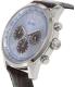 Guess Men's U0380G6 Brown Leather Quartz Watch - Side Image Swatch