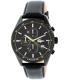 Lacoste Men's Dublin 2010785 Black Leather Quartz Watch - Main Image Swatch