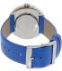Marc by Marc Jacobs Women's Peggy MBM1364 Blue Leather Quartz Watch - Back Image Swatch