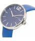 Marc by Marc Jacobs Women's Peggy MBM1364 Blue Leather Quartz Watch - Side Image Swatch
