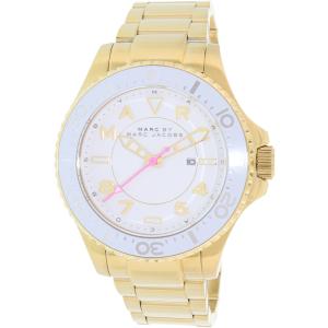 Marc by Marc Jacobs Women's Dizz MBM3408 Gold Stainless-Steel Quartz Watch