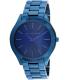 Michael Kors Women's Slim Runway MK3419 Blue Stainless-Steel Quartz Watch - Main Image Swatch