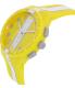 Swatch Men's Originals SUSJ100 Yellow Rubber Swiss Quartz Watch - Side Image Swatch