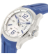 Citizen Men's Eco-Drive AW1350-08A Blue Rubber Eco-Drive Watch - Side Image Swatch