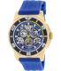 Invicta Men's Reserve 18948 Blue Rubber Swiss Quartz Watch - Main Image Swatch