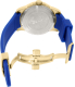 Invicta Men's Reserve 18948 Blue Rubber Swiss Quartz Watch - Back Image Swatch