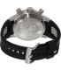 Invicta Men's Jason Taylor 13687 Black Rubber Swiss Quartz Watch - Back Image Swatch