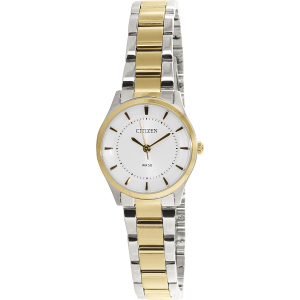 Citizen Women's ER0208-57A Silver Metal Quartz Watch