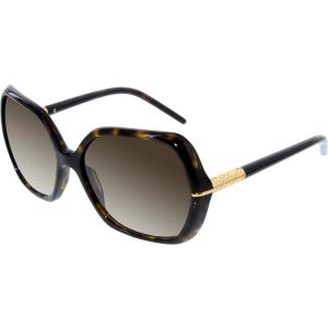 Burberry Women's Gradient  BE4107-300213-60 Tortoiseshell Square Sunglasses