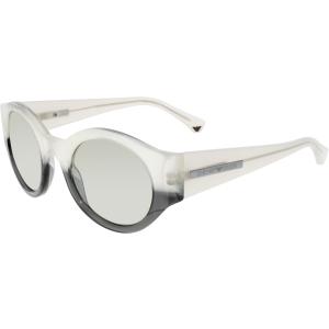 Emporio Armani Women's  EA4044-53656G-47 Clear Round Sunglasses