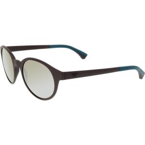 Emporio Armani Men's Mirrored  EA4045-53425A-51 Brown Round Sunglasses