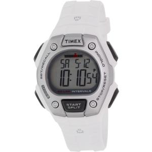 Timex Women's Ironman TW5K88100 White Rubber Quartz Watch