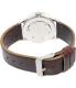 Nixon Men's Sentry A3771524 Brown Leather Quartz Watch - Back Image Swatch